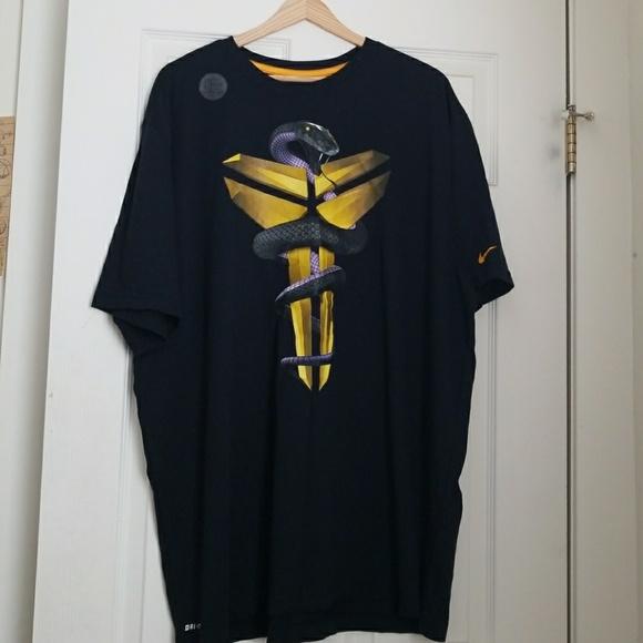 Nike Drifit Kobe Black Mamba Shirt 3xl